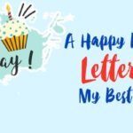 Touching Birthday Letter for Best Friend - Sample Birthday Letter